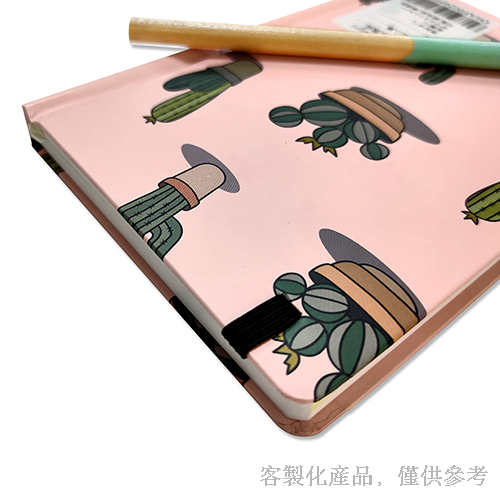 Notebook_Customized Sewn Binding Notebook with Pencil