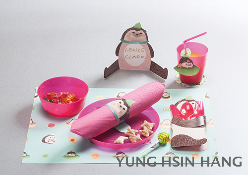 83-04PHH DIY Animal Friends Party Kit- Hedgehog